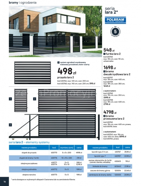 Castorama gazetka promocyjna od 2020-02-01, strona 14
