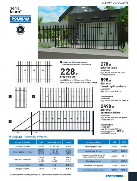 Castorama gazetka promocyjna od 2020-02-01, strona 5