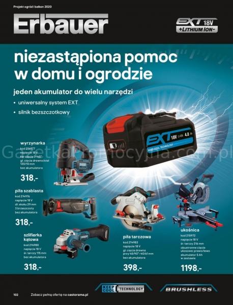 Castorama gazetka promocyjna od 2020-03-18, strona 102