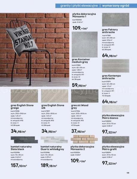 Castorama gazetka promocyjna od 2020-03-18, strona 119
