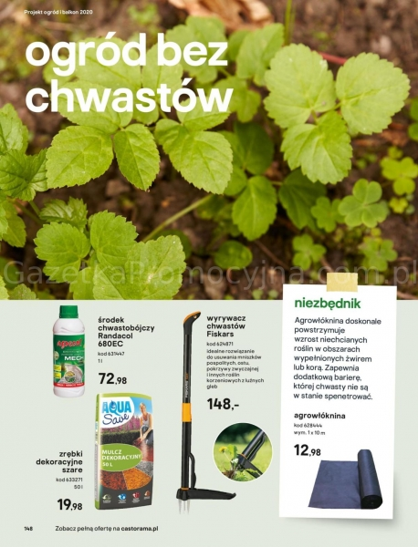 Castorama gazetka promocyjna od 2020-03-18, strona 148