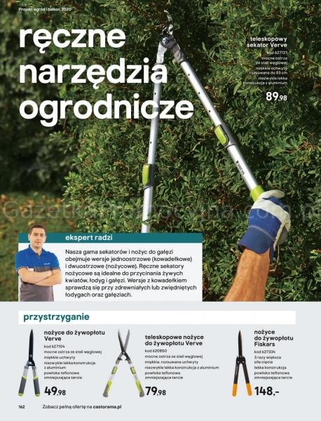 Castorama gazetka promocyjna od 2020-03-18, strona 162