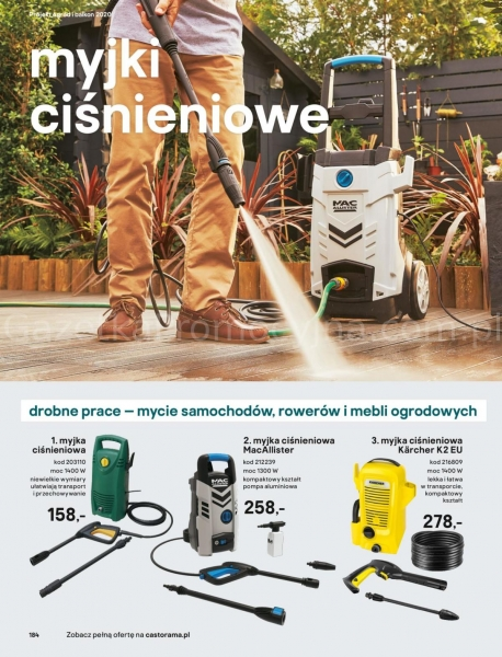 Castorama gazetka promocyjna od 2020-03-18, strona 184