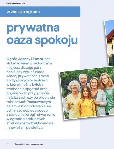 Castorama gazetka promocyjna od 2020-03-18, strona 64