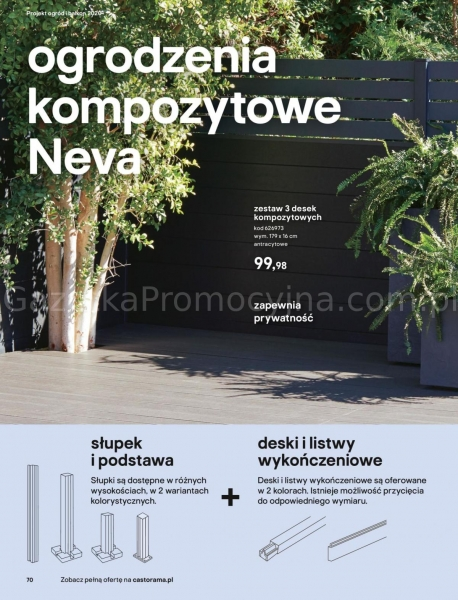 Castorama gazetka promocyjna od 2020-03-18, strona 70