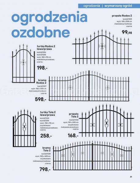 Castorama gazetka promocyjna od 2020-03-18, strona 81