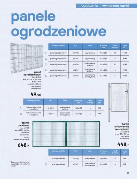 Castorama gazetka promocyjna od 2020-03-18, strona 89