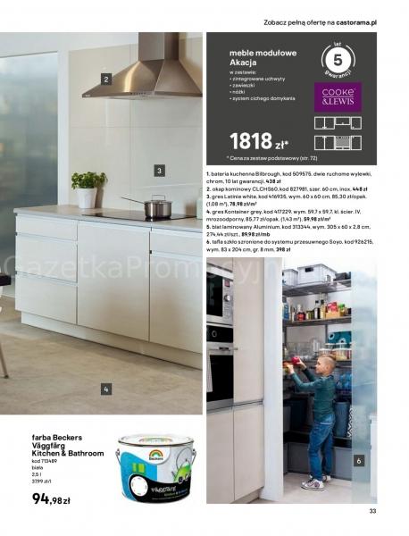 Castorama gazetka promocyjna od 2020-03-18, strona 33