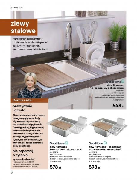 Castorama gazetka promocyjna od 2020-03-18, strona 44