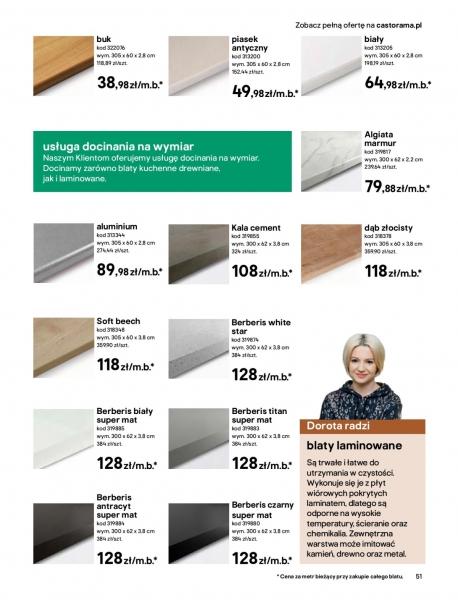 Castorama gazetka promocyjna od 2020-03-18, strona 51