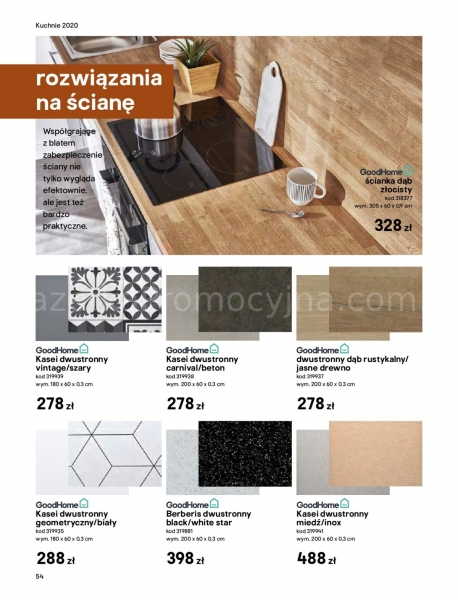 Castorama gazetka promocyjna od 2020-03-18, strona 54