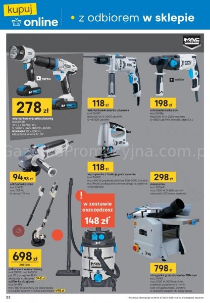 Castorama gazetka promocyjna od 2020-06-24, strona 22