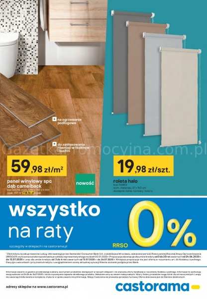 Castorama gazetka promocyjna od 2020-06-24, strona 30