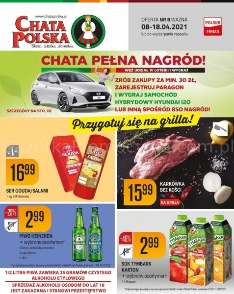 Chata Polska gazetka promocyjna od 2021-04-08, strona 1