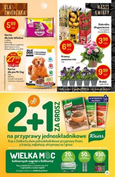Delikatesy Centrum gazetka promocyjna od 2020-03-26, strona 25
