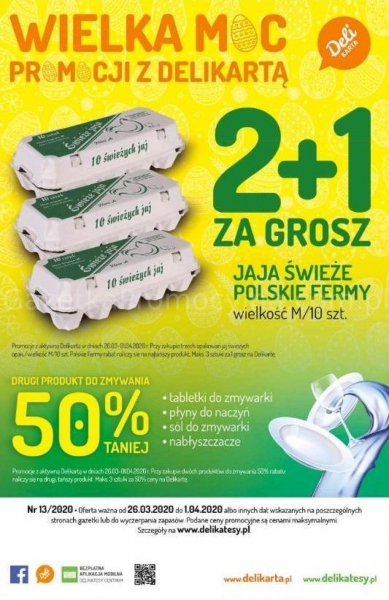 Delikatesy Centrum gazetka promocyjna od 2020-03-26, strona 28