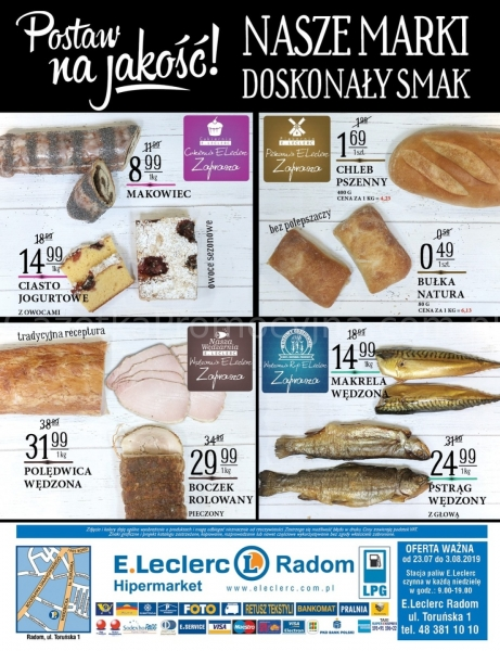 E.Leclerc gazetka promocyjna od 2019-07-30, strona 16