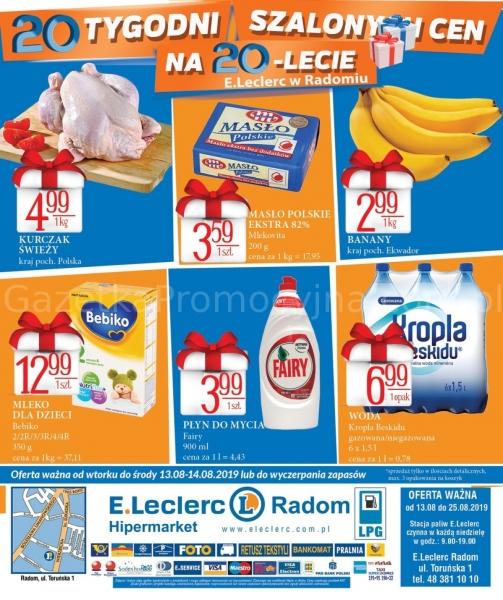E.Leclerc gazetka promocyjna od 2019-08-13, strona 24