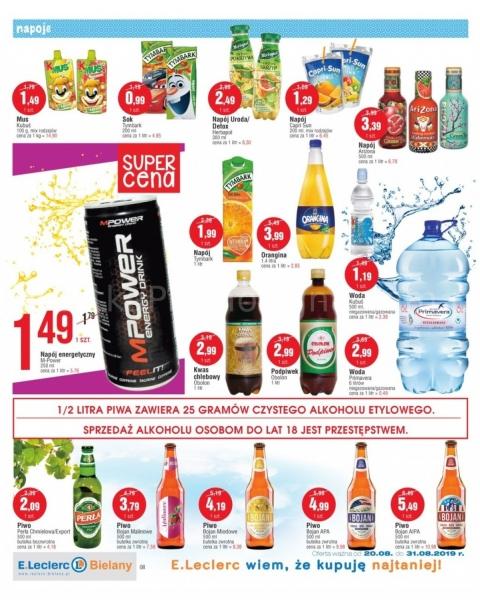 E.Leclerc gazetka promocyjna od 2019-08-20, strona 8