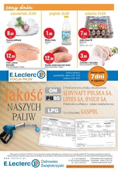 E.Leclerc gazetka promocyjna od 2019-09-10, strona 12