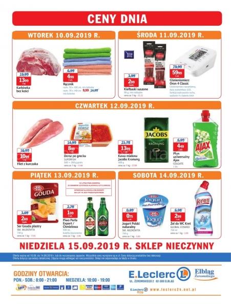 E.Leclerc gazetka promocyjna od 2019-09-10, strona 16
