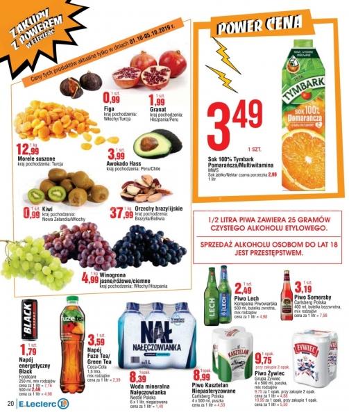 E.Leclerc gazetka promocyjna od 2019-10-01, strona 20