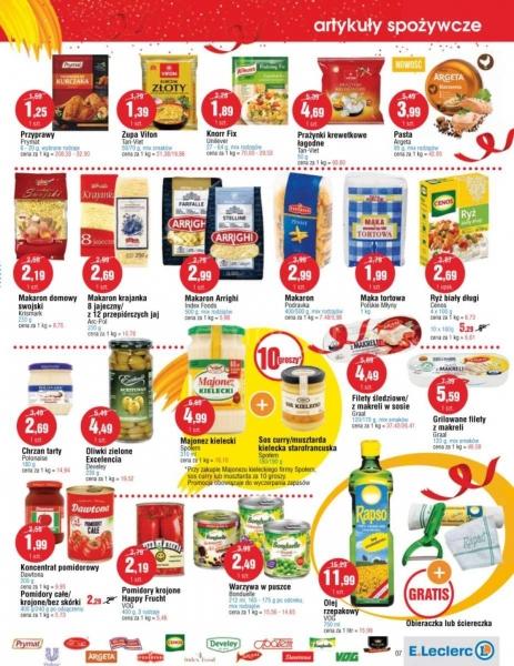E.Leclerc gazetka promocyjna od 2019-10-08, strona 7