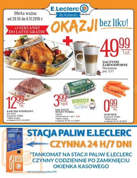 E.Leclerc gazetka promocyjna od 2019-10-29, strona 1