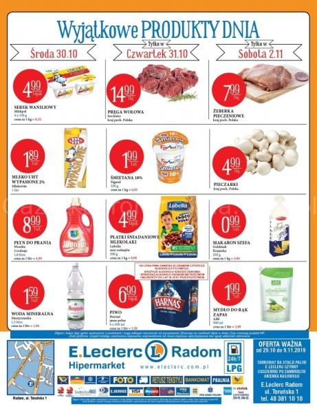 E.Leclerc gazetka promocyjna od 2019-10-29, strona 16