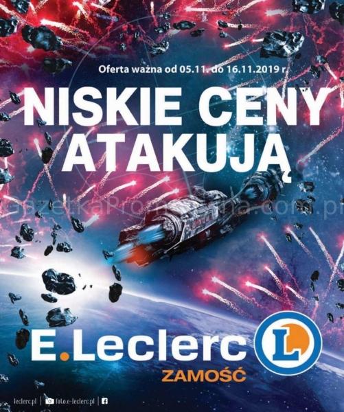 E.Leclerc gazetka promocyjna od 2019-11-05, strona 1