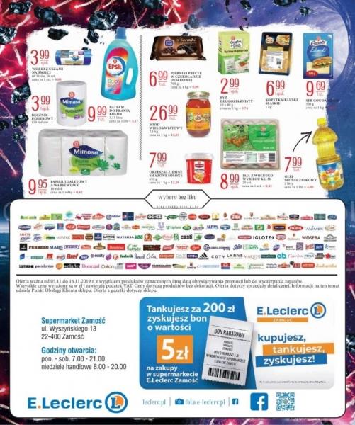 E.Leclerc gazetka promocyjna od 2019-11-05, strona 23