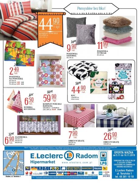 E.Leclerc gazetka promocyjna od 2019-11-05, strona 16