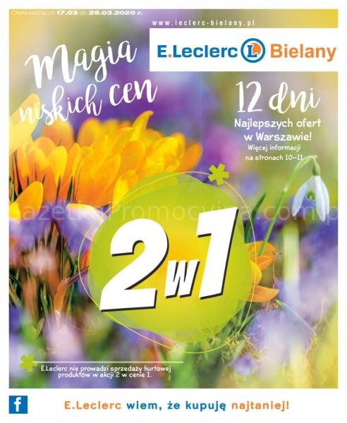 E.Leclerc gazetka promocyjna od 2020-03-17, strona 1