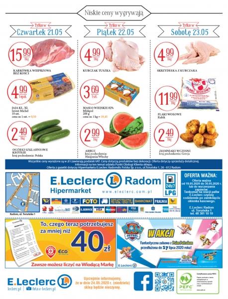 E.Leclerc gazetka promocyjna od 2020-05-19, strona 16