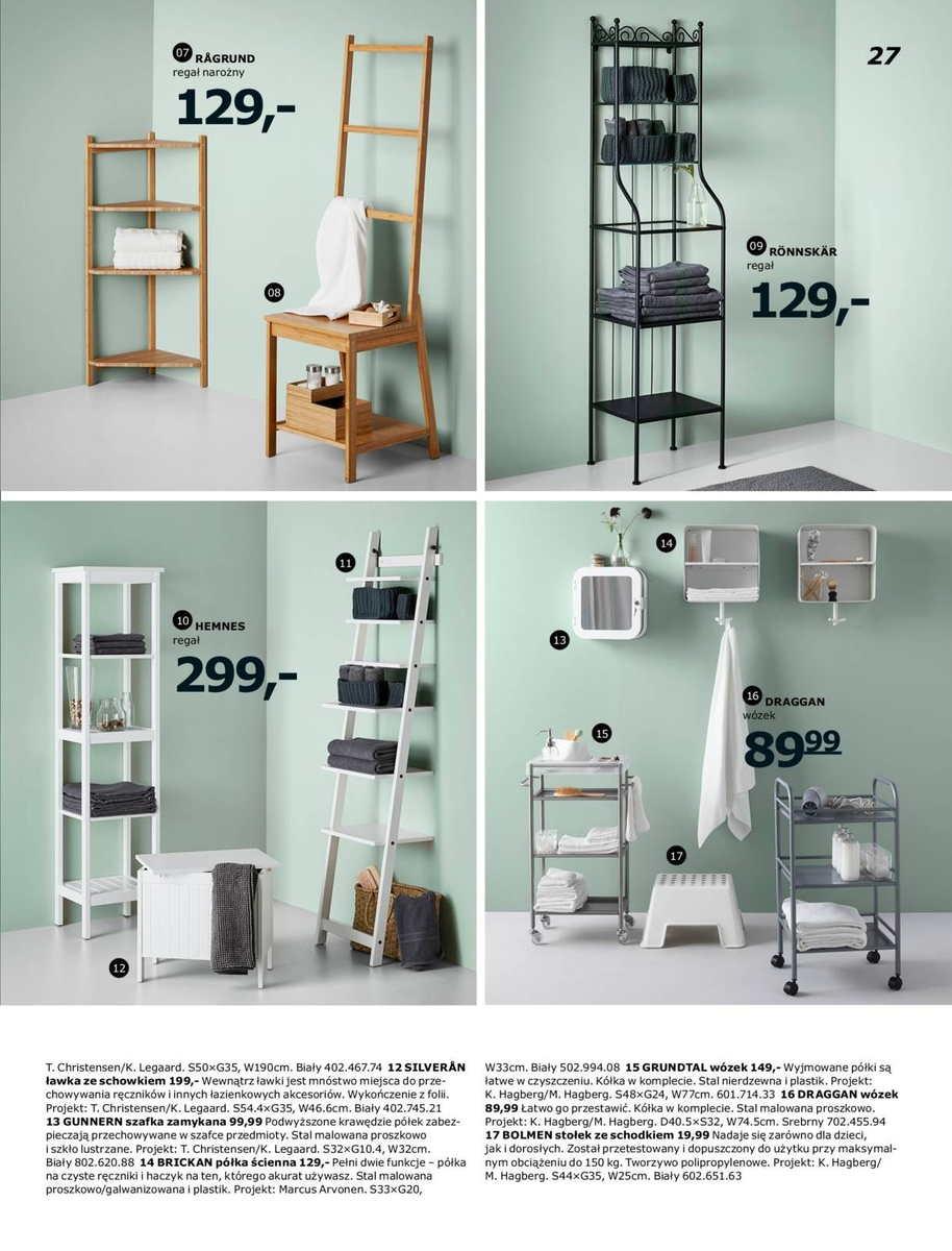 Ikea gazetka promocyjna od 2017-01-02, strona 27