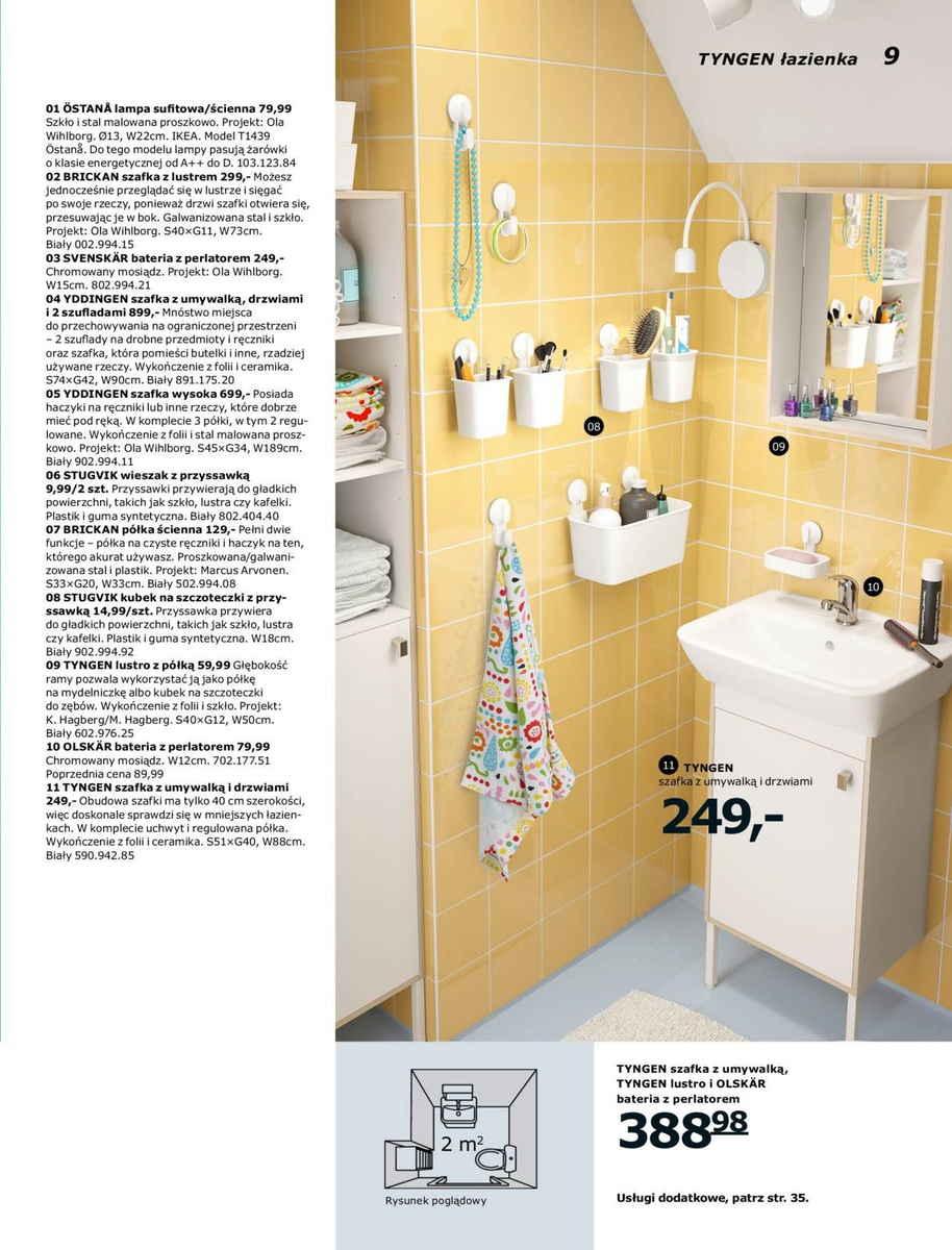 Ikea gazetka promocyjna od 2017-01-02, strona 9