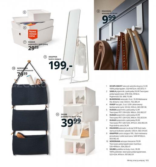 Ikea gazetka promocyjna od 2019-08-26, strona 103