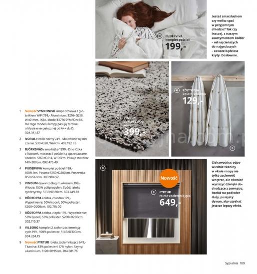 Ikea gazetka promocyjna od 2019-08-26, strona 109