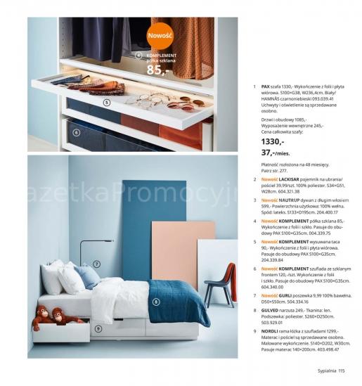 Ikea gazetka promocyjna od 2019-08-26, strona 115