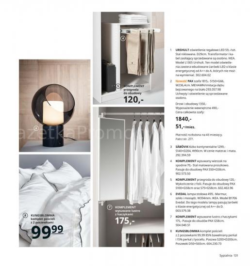 Ikea gazetka promocyjna od 2019-08-26, strona 131