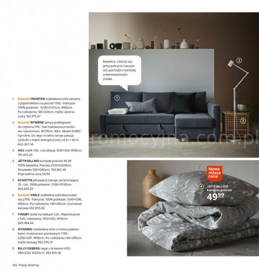 Ikea gazetka promocyjna od 2019-08-26, strona 192