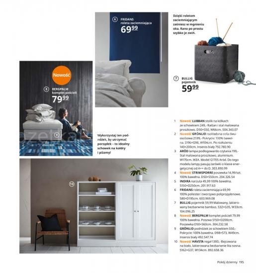 Ikea gazetka promocyjna od 2019-08-26, strona 195