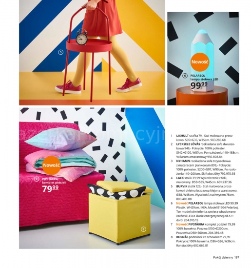 Ikea gazetka promocyjna od 2019-08-26, strona 197
