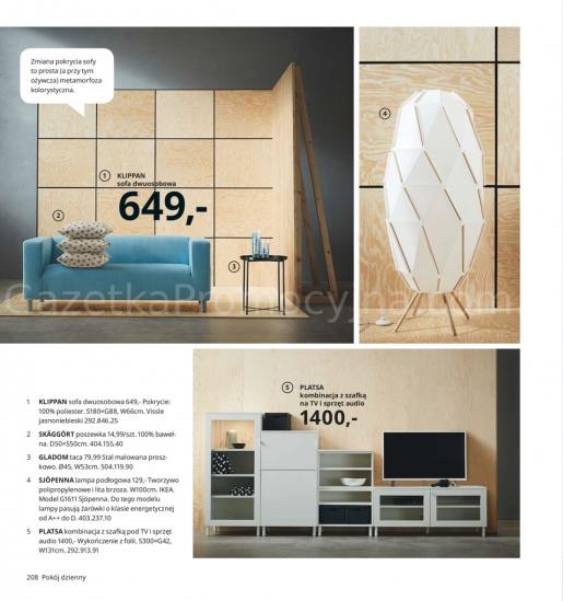 Ikea gazetka promocyjna od 2019-08-26, strona 208