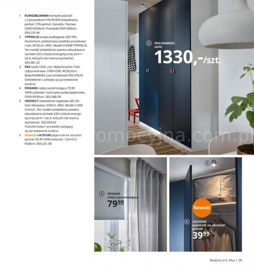 Ikea gazetka promocyjna od 2019-08-26, strona 29