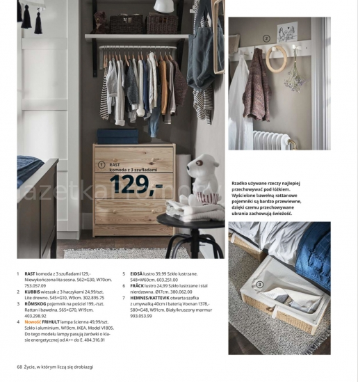 Ikea gazetka promocyjna od 2019-08-26, strona 68