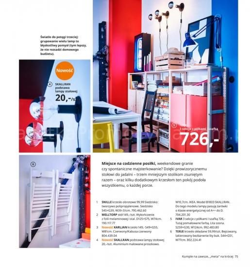 Ikea gazetka promocyjna od 2019-08-26, strona 75