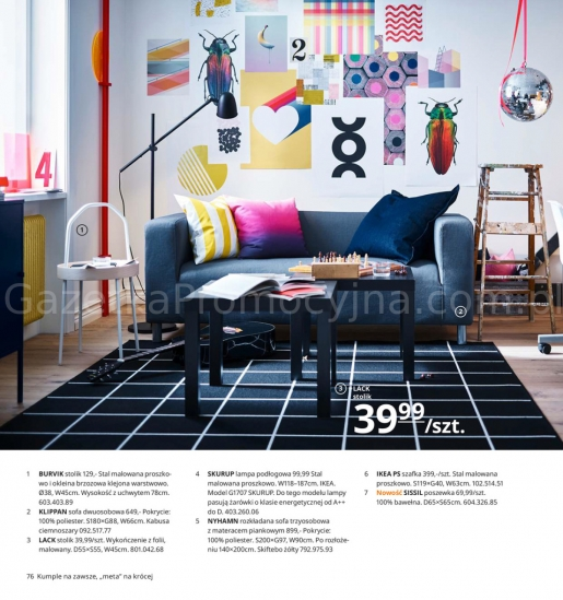 Ikea gazetka promocyjna od 2019-08-26, strona 76