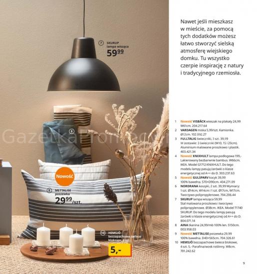 Ikea gazetka promocyjna od 2019-08-26, strona 9
