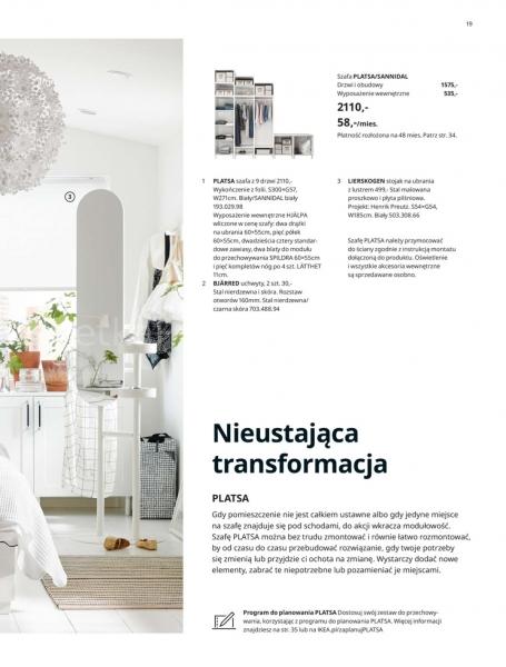 Ikea gazetka promocyjna od 2019-08-29, strona 19